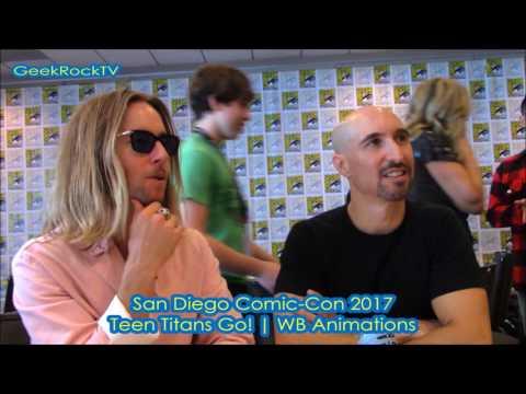 Comic Con San Diego 2017  Teen Titans Go!  Greg Cipes  Scott Menville