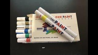 маркер-краска: инструкция по применению