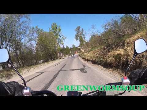 ALASKA MOUNTAINS - Honda Ruckus Ride - Gopro Camera