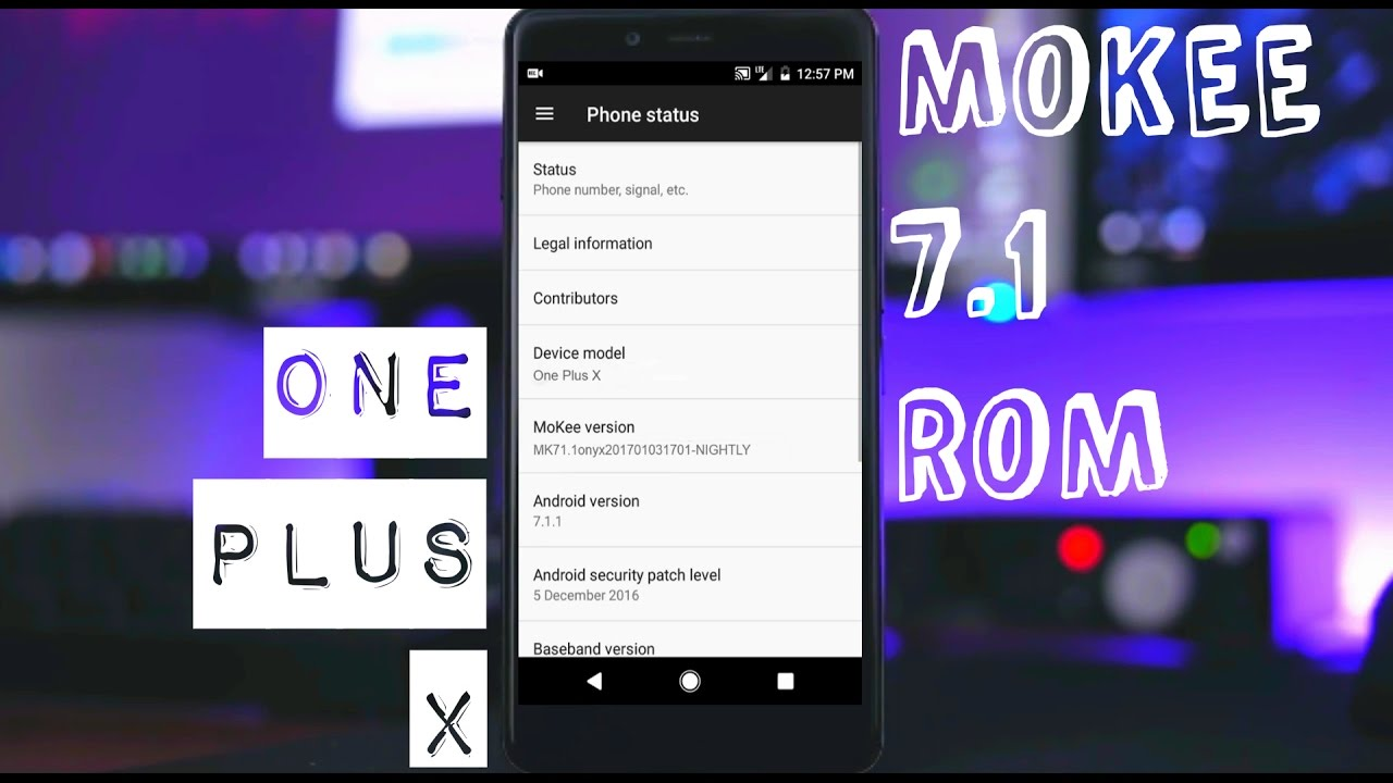 MOKEE ROM 7 1 QUICK REVIEW || ONE PLUS X ONYX || FEATURES AND BUGS ||