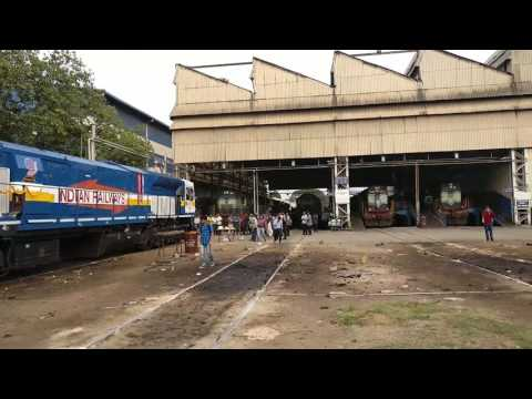 New Loco 'PRATAP' inagural in KJM Shed Ignition ON