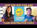 Just the Way You Are (Bruno Mars) Ukulele Play-Along // Flash Mob Practice Video