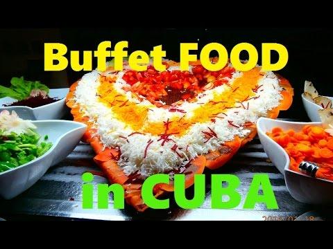 Buffet Food At Brisas Santa Lucia Resort In Cuba -