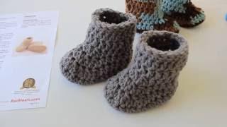 Warm Crochet Baby Boots