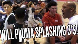 Will Pluma SPLASHING THREES + LaMelo Scores 38 In Front Of UCLA Head Coach FULL HIGHLIGHTS thumbnail
