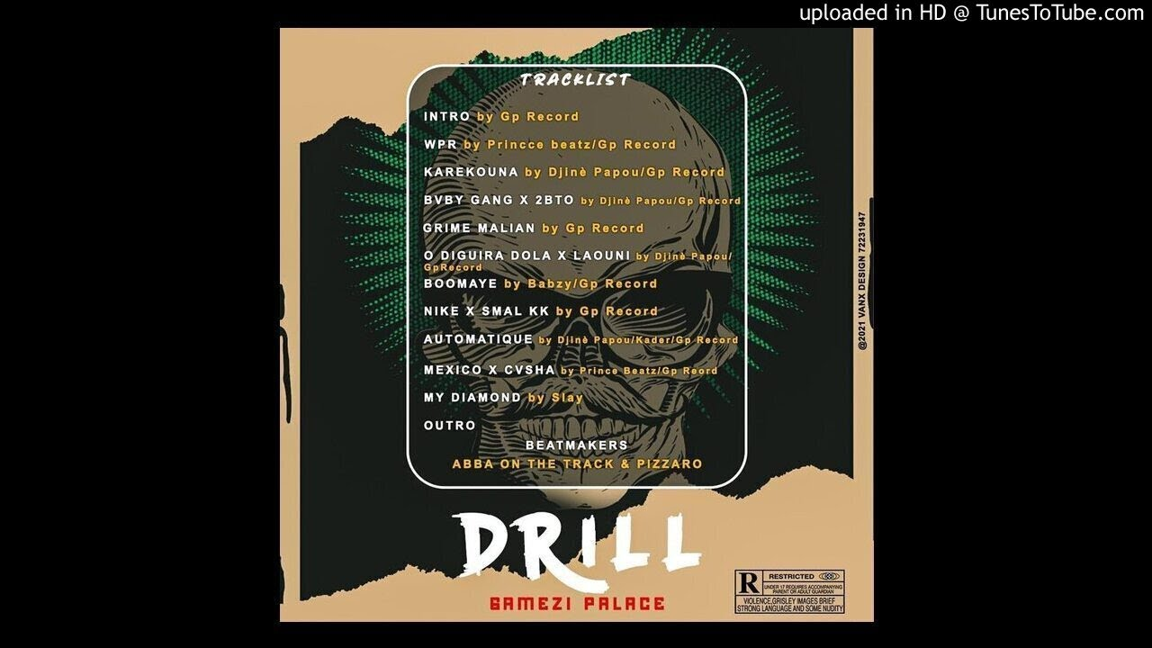 GAMEZI PALACE GP Feat 2BTO KING - BABY GANG ( Audio Officiel 2021 extrait DRILL )