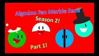 Algodoo Fan Marble Race Season 2 Part 1