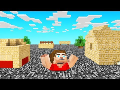 MINECRAFT But BEDROCK Rises EVERY 10 SECONDS!
