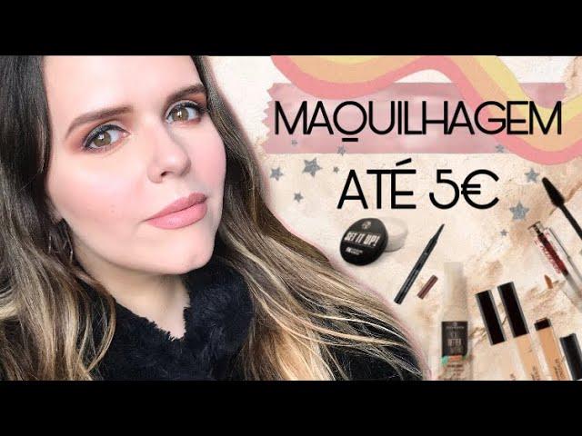 5 Produtos de Maquilhagem até 5€ - Os Concelhos da Daniela Moreno