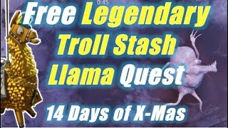 Free Legendary Troll Stash Llama / Fortnite Save the World