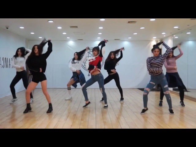 Dreamcatcher 'Chase Me' mirrored Dance Practice