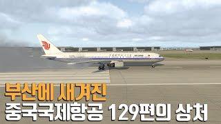 부산에 새겨진 중국국제항공 129편의 상처 / Air China Flight 129