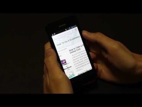 How to Take a Screenshot on Huawei Ascend Y300