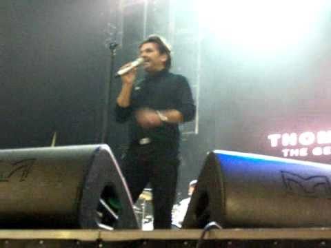 Thomas Anders,  Debrecen, Hungary, 2010.11.20. You Are Not Alone, soundcheck