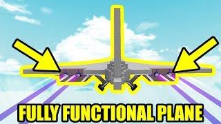 ho costruito un aereo completamente funzionale | Roblox costruire una barca per il tesoro
