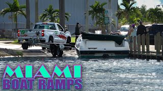 This Is NOT Going To Work! | Miami Boat Ramps | Black Point Marina