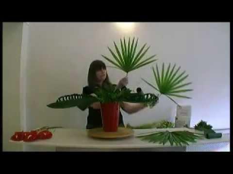 floristry lesson
