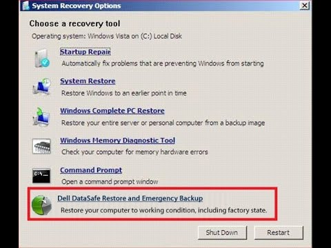 download recovery tool for windows 7