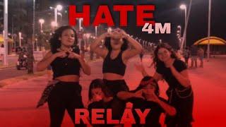 [KPOP IN PUBLIC CHALLENGE] 4MINUTE (포미닛) - 'HATE' (싫어) | REL…