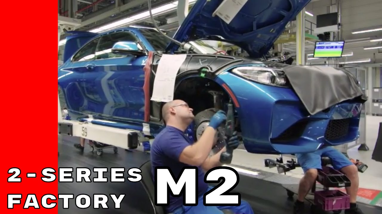 Bmw 2 Series Factory Bmw M2 230i M240i Production