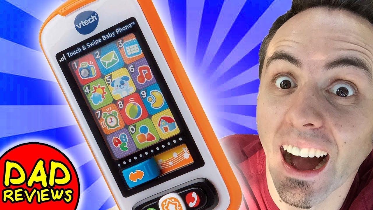 Frustration Free Packaging VTech Touch /& Swipe Baby Phone