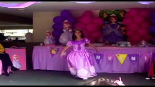 Show Princesita Sofia (imitacion)