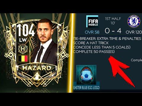 НОВОСТИ: HAZARD 104 OVR + ПАСХА - Новое Событие FIFA MOBILE 20: New Event Easter News