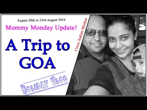 Goa Vlog | Birthday Weekend holiday at the Beach | Crazy Indian Mother | RGV Love