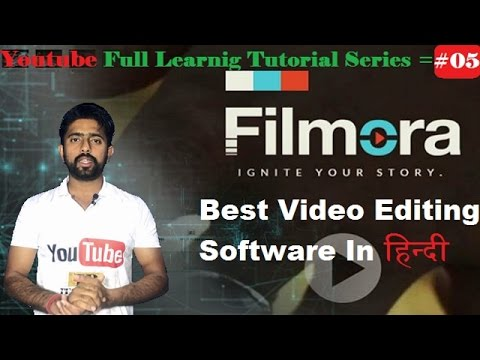 Best Video Editing Software / fully explained filmora