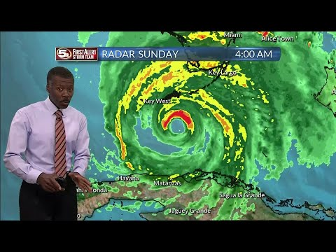 Tropical Storm Irma in Georgia 9/11/17