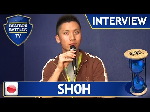 Sh0h from Japan - Interview - Beatbox Battle TV