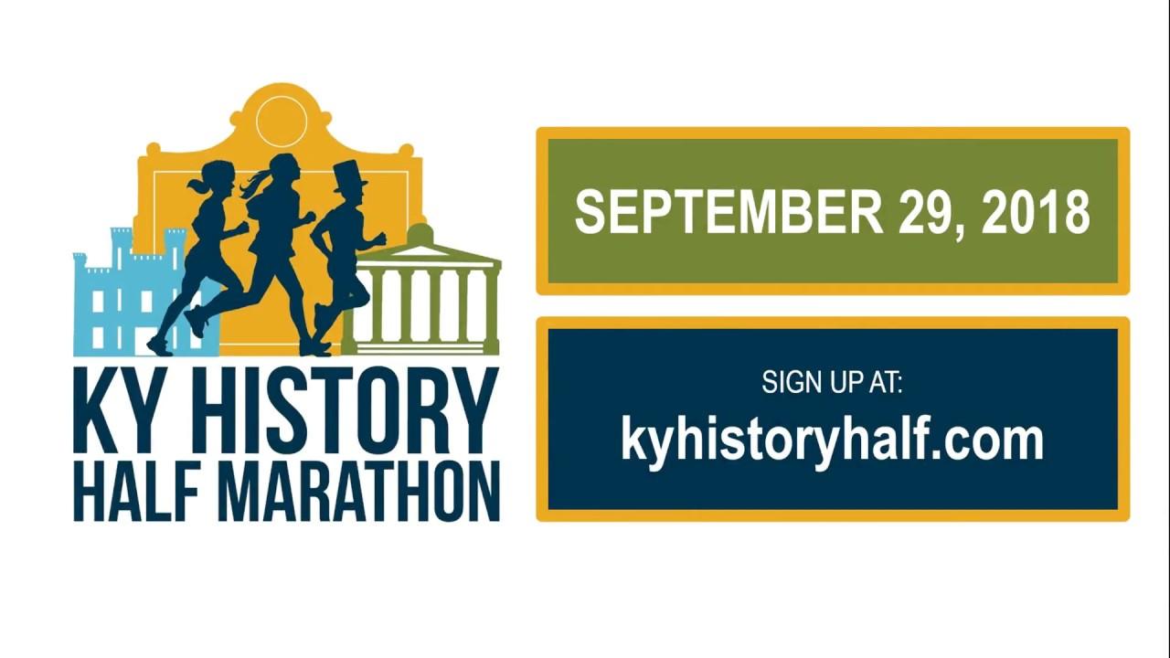 2018 kentucky history half marathon full promo youtube