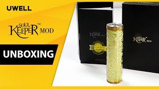 UWELL Soulkeeper 🐲Hybrid Mech Mod - Factory Unboxing First Look 👀