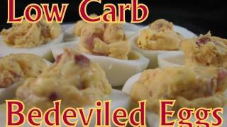 Atkins Diet Recipes: Low Carb Bedeviled Eggs (if)