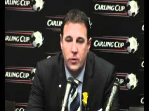 Cardiff City manager Malky MacKay on his side's heartbreaking Carling Cup defeat to Liverpool FC