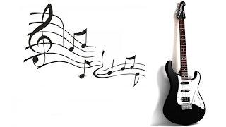 №8. Импровизация на гитаре в до-мажорной гамме. Уроки игры на гитаре