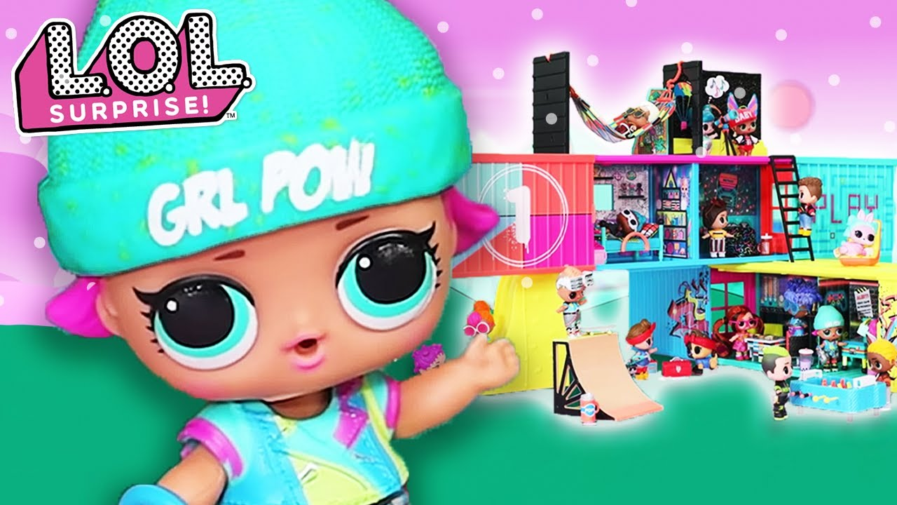 L.O.L. Surprise! Dolls Clubhouse Exclusive Tour with Switch B.B.!