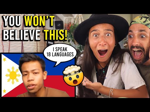 FILIPINO BOY speaks 18 LANGUAGES! (YOU NEED TO WATCH THIS!)