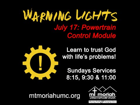 071716 - Warning Lights - Powertrain Control Module