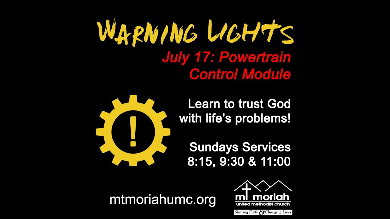 071716 Warning Lights Powertrain Control Module Youtube