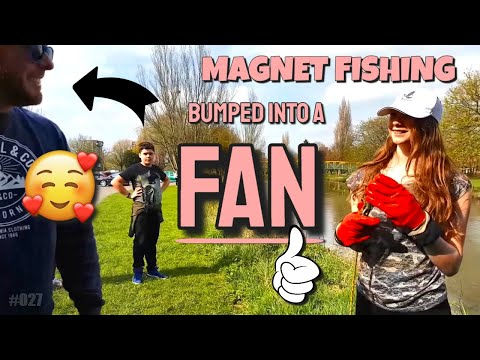 Magnet Fishing #024 Met Fans at the River Tame!