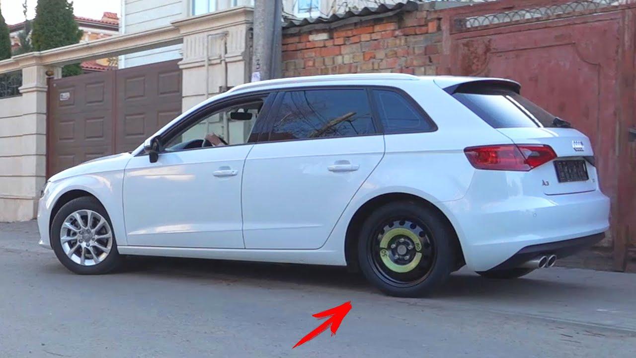 Зламалася Ауді А3 Відвалилося колесо / Діма і Машинки