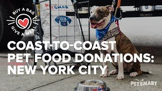 Coast-to-Coast Pet Food Donations: Food Bank for NYC