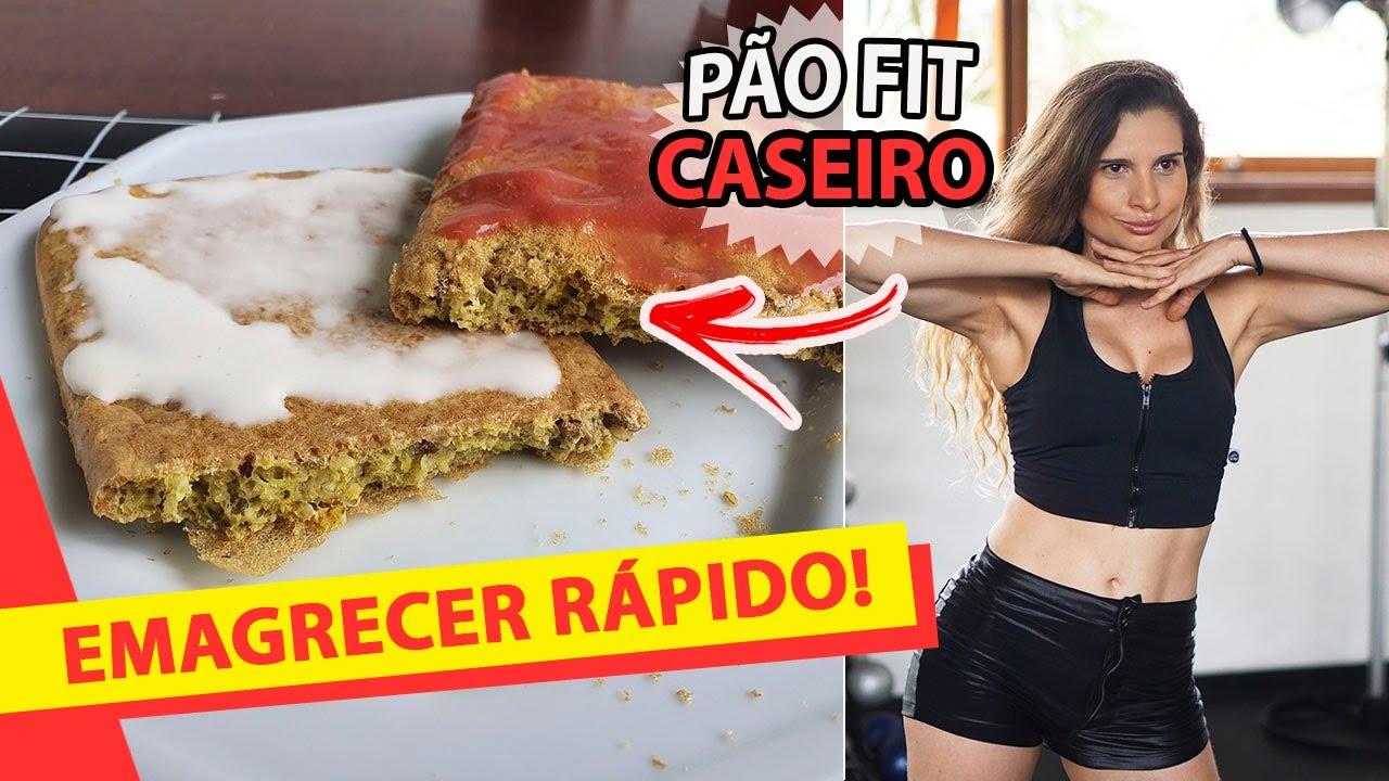 DIÁRIO DA DIETA: PÃO CASEIRO NO CAFÉ DA MANHÃ (MEGA FÁCIL) *como emagrecer e perder barriga rápido?