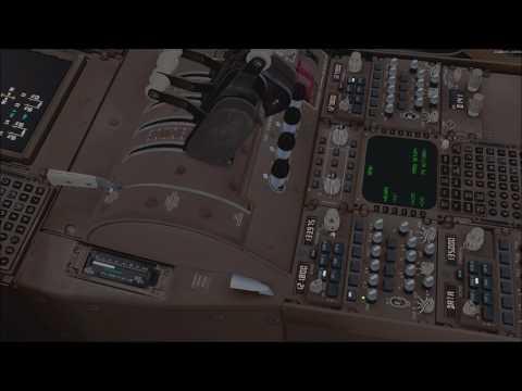 P3D V4 Busy Depature out Of EHAM (VATSIM KLM 1849) PMDG 747-400