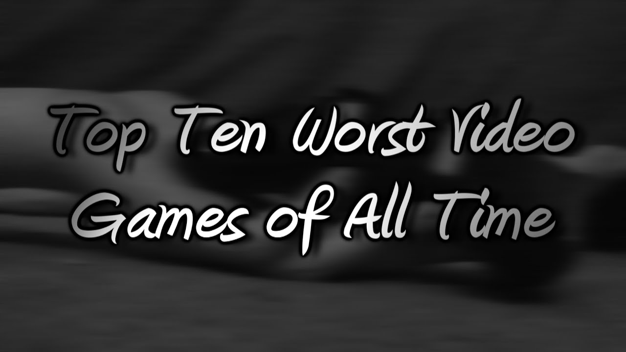 The 20 Worst Video Games Of All Time According To IGN (And ...