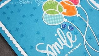 "Simon Says Stamp June 2015 Card Kit | ""Smile It"