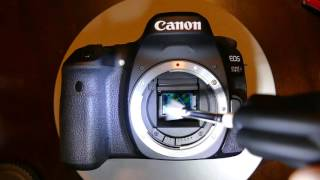 How to use Arctic Butterfly from VisibleDust to clean Canon 80D sensor