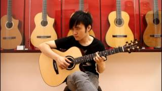 "Supper Moment 風箏 ""Acoustic Guitar"" Steven Law"