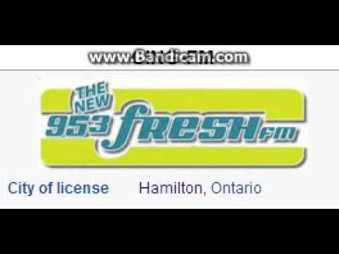 CING-FM 95.3 Fresh FM Hamilton, ON TOTH ID at 5:00 p.m. 6/22/2014